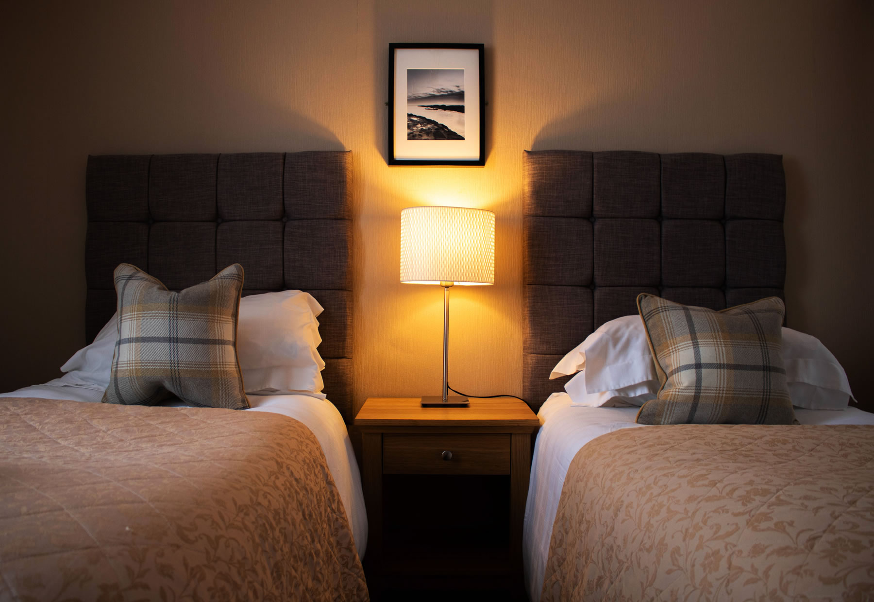 Accommodation at the Upper Largo Hotel